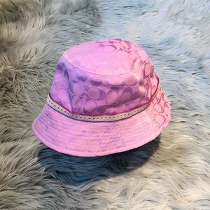 Coach - Pink Bucket Hat